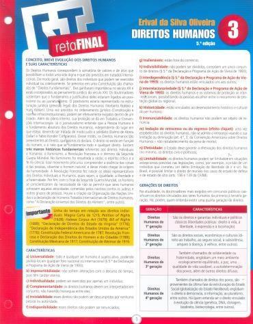 Direitos Humanos - Reta Final - Vol. 3