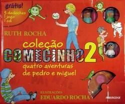 Quatro Aventuras de Pedro e Miguel - Coleção Comecinho 2