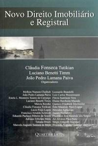 Novo Direito Imobiliario e Registral
