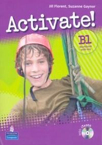 Activate! B1 Workbook With Key - With Multi-rom - Jill Florent And Suzanne Gaynor