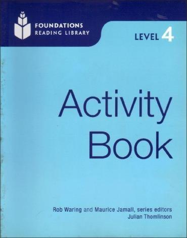Foundations Reading Library Activity Book - Level 4