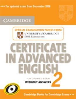 Camb Cae 2 Updated Exam Sb Wo Answers
