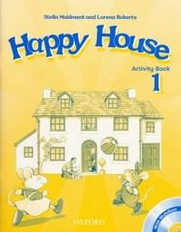 Happy House: American Enghish: Activity Book 1 With Cd Rom