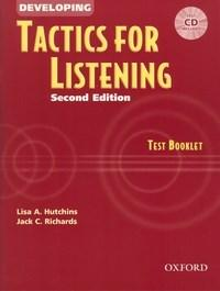 Developing Tactics For Listening Test Booklet With Cd Second Edition