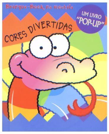 Cores Divertidas - Livro Pop-up