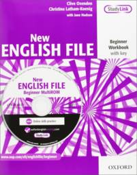 New English File Beginner A1 Workbook - With Answer Booklet And Multi-rom