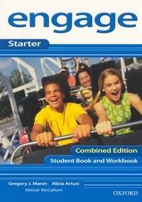 Engage Starter: Student Book/workbook With Cd Audio