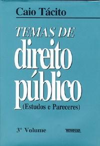 Temas de Direito Publico Volume 3