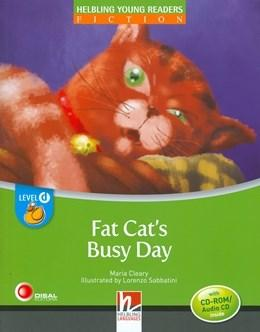 Fat Cat`s Busy Day With Cd Rom / Audio Cd ? Level D - Volume 1