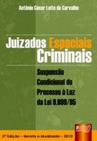 Juizados Especiais Criminais - Suspensao Condicional a Luz da Lei 9.099/95