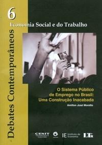 Debates Contemporaneos Vol 6 - Economia Social e do Trabalho