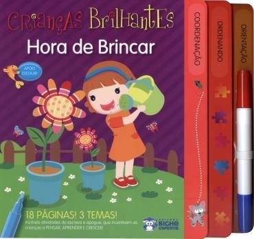 Crianças Brilhantes: Hora de Brincar Escreva e Apague