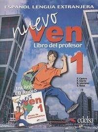 Nuevo Ven - Libro Del Profesor Con Cd Audio - Nivel 1