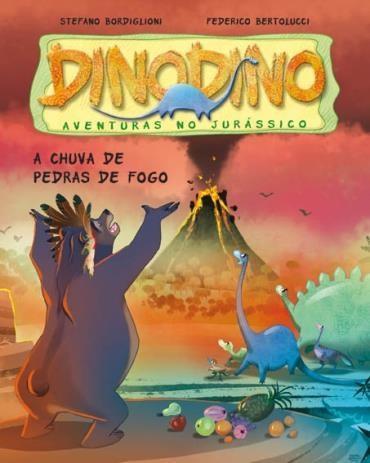 Cinco Amigos Contra o T-rex - Coleção Dinodino: Aventuras no Jurássico