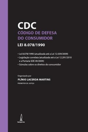 Código de Defesa do Consumidor: Lei 8.078/1990