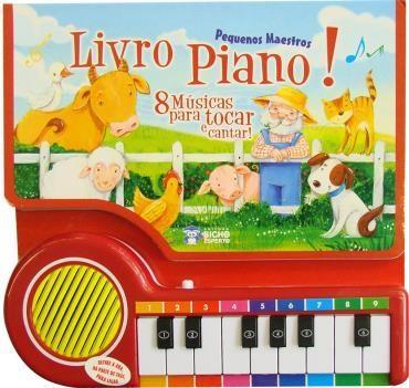 Pequenos Maestros: Livro Piano