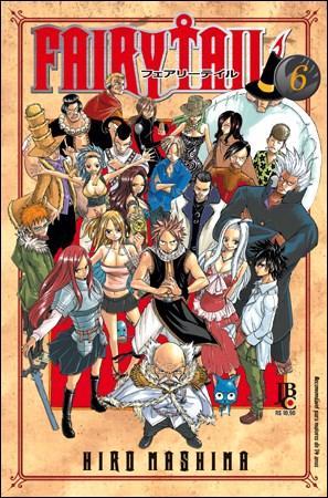 Fairy Tail - Vol. 06 (2011 - Edição 1)