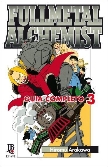 Fullmetal Alchemist Guia Completo - Vol.3 (2012 - Edição 1)