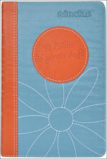 Bíblia da Garota de Fé, a - Laranja e Azul