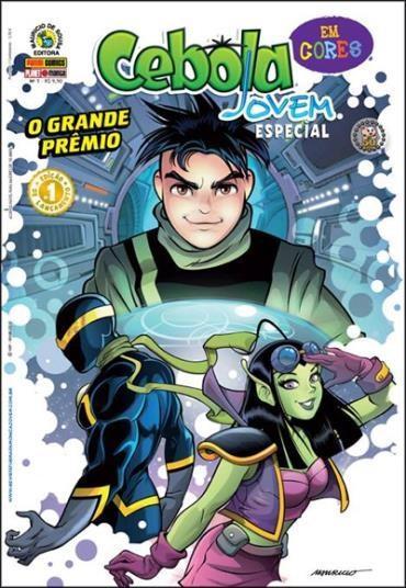 Cebola Jovem Especial em Cores: o Grande Prêmio - Volume 1 - Maurício de Sousacebola Jovem Especial em Cores - o Grande Prêmio - Volume