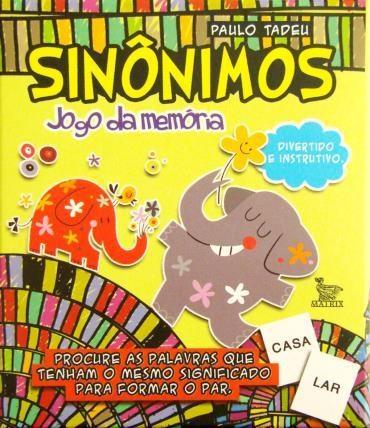 Sinônimos: Jogo da Memória