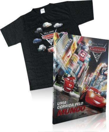 Disney Pixar Carros 2: uma Corrida pelo Mundo (grátis Camiseta )