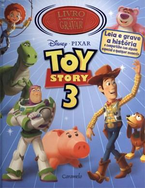 Toy Story 3 - Livro para Gravar (2011 - Edição 1)