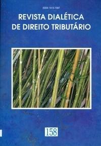 Revista Dialética de Direito Tributario - Vol.158 (0)