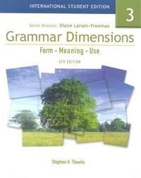 Grammar Dimensions 3 - Student Book