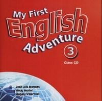 My First English Adventure 3 Aud Cd