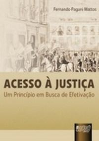 Acesso a Justica - um Principio em Busca de Efetivacao