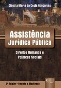 Assistencia Juridica Publica - Direitos Humanos e Politicas Sociais