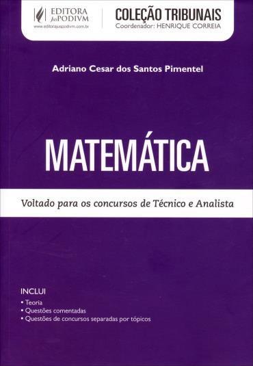 Coleção Tribunais - Matemática - para Técnico e Analista