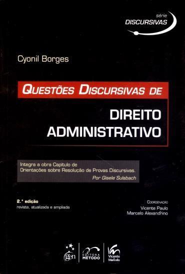 Questões Discursivas de Direito Administrativo