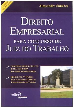 Direito Empresarial para Concurso de Juiz do Trabalho