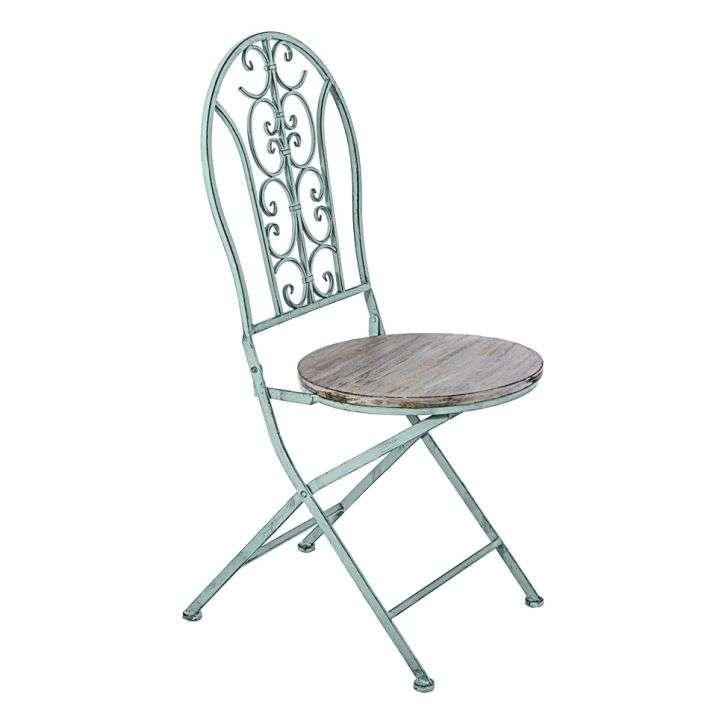Cadeira de Jardim Azul Velho Oldway