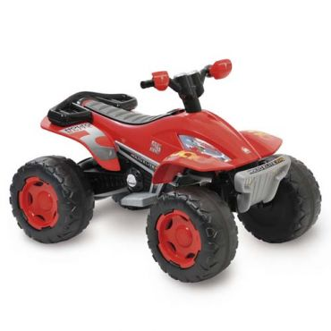 Mini Moto Bandeirante Quadriciclo 2607 12v - Vermelho