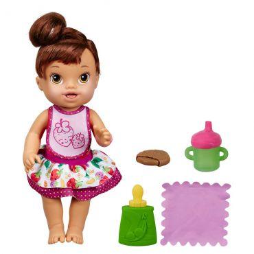 Boneca Baby Alive - Meu Lanchinho Morena A7196 Hasbro