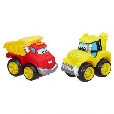 Caminhão Wheel Pals Carga e Escavadeira A3658 Hasbro