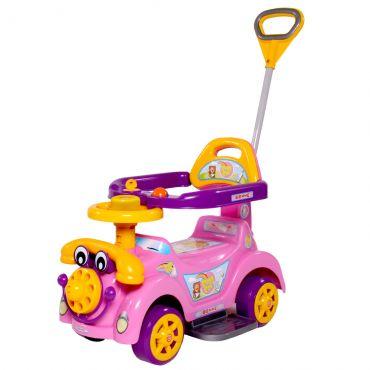 Andador Biemme Roxo e Amarelo Ring Car