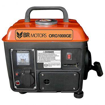 Gerador de Energia Gasolina 1000w Br Motors Monofásico 220v - Org1000ge
