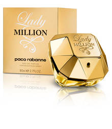 Perfume Lady Million Paco Rabanne Eau de Parfum Feminino 50 Ml