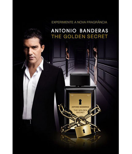 Perfume The Golden Secret Antonio Banderas Eau de Toilette Masculino 30 Ml