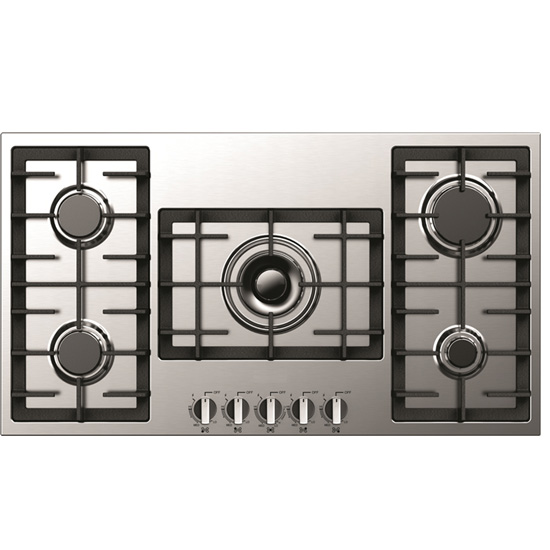 Cooktop 5 Bocas Criss Air Inox - Gás - Ccp200