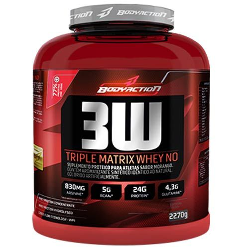 3w Triple Matrix Whey no 2,27kg Chocolate Body Action