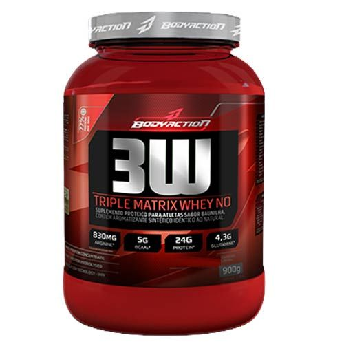 3w Triple Matrix Whey no 900g Chocolate Body Action