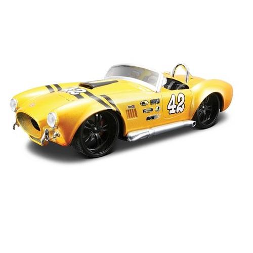 Carrinho Shelby Cobra 1965 Pro Rodz 1:24 Amarelo 31325 Maisto