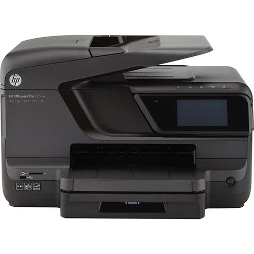 Multifuncional Hp Officejet Pro 276dw Cr770a Jato de Tinta Colorida Usb, Ethernet e Wi-fi Bivolt
