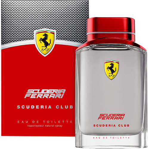 Perfume Scuderia Club Ferrari Perfumes Eau de Toilette Masculino 40 Ml