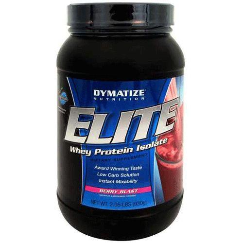 Elite 100% Whey Protein 930g Morango Dymatize